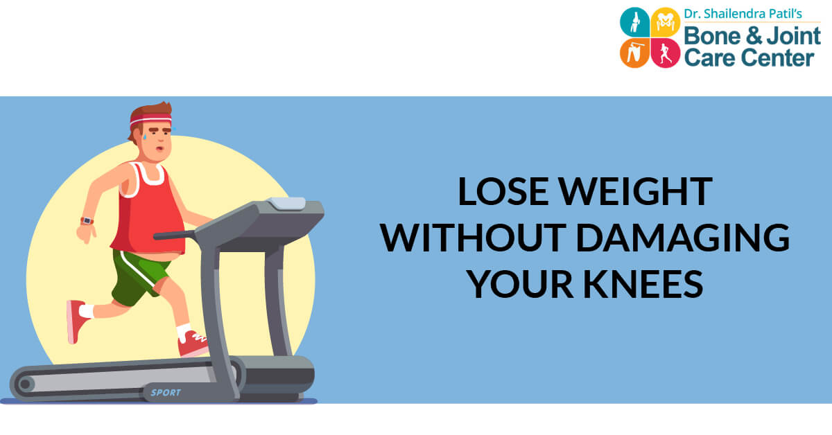 How Overweight people can avoid knee pain and even Knee surgery in later life?
